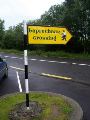 Leprechaun-Crossing